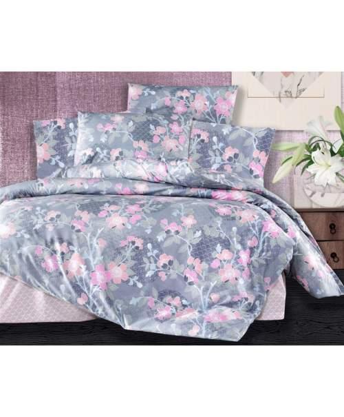 Brotex Povlečení bavlna 140x200, 70x90cm Sarah pink , Výběr zapínání: zipový uzávěr