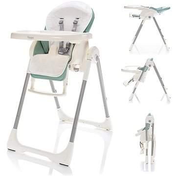 Zopa Jídelní židlička Ivolia Silver green