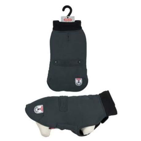 ZOLUX Obleček voděodolný pro psy RIVER černá 25cm