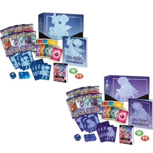 Pokémon TCG: Sword and Shield 06 Chilling Reign - Elite Trainer Box