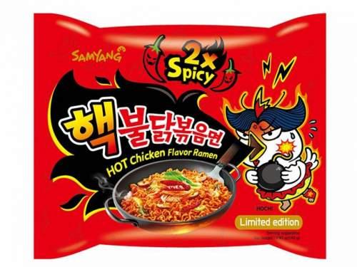 Samyang Instantní nudle s příchutí extra pálivého kuřete 140 g