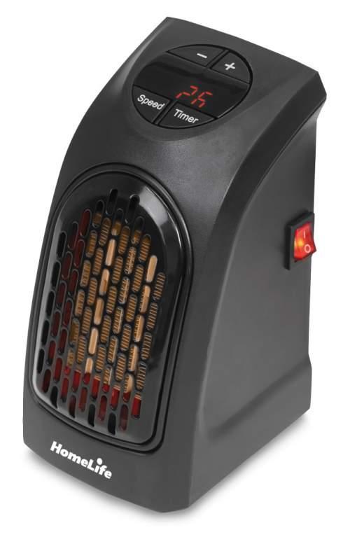 HomeLife Teplovzdušný ventilátor MINI HEATER KLW-007A