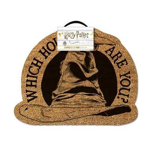Pyramid International Harry Potter rohožka Sorting Hat 40 x 50 cm hnědá