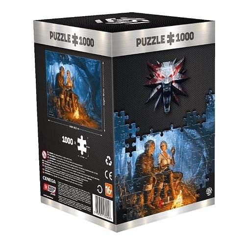 Good Loot Puzzle Zaklínač - Ciri, 1000 dílků