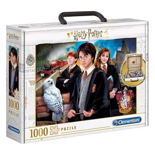 Clementoni Puzzle Harry Potter v kufříku, 1000 dílků
