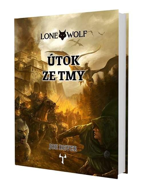 Joe Dever: Lone Wolf: Útok ze tmy (vázaná) + záložka
