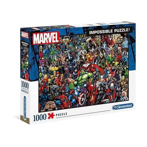 Clementoni 39411 Nekoneční hrdinové Marvelu 1000 dílků