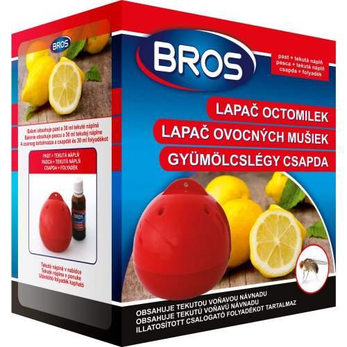 Bros Lapač octomilek past + tekutá náplň 30 ml