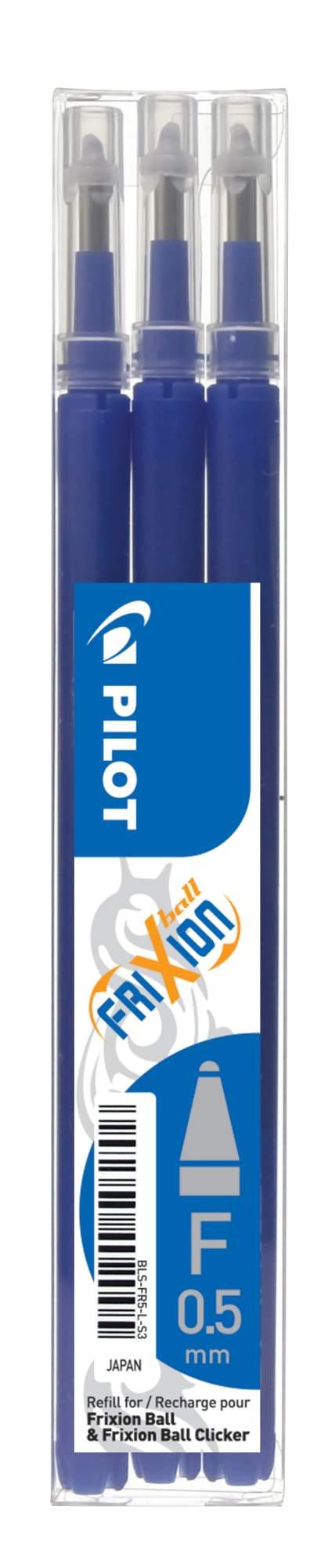 PILOT FriXion 0.5/0.25mm modrá 3ks