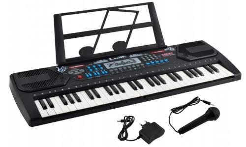 DR 8238 Elektronické klávesy 54 kláves černá
