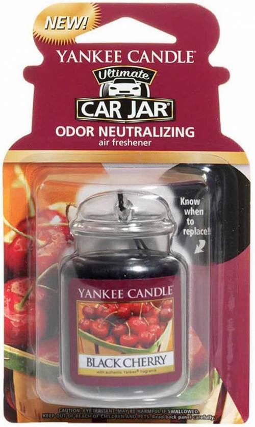 Yankee Candle Black Cherry gelová visačka