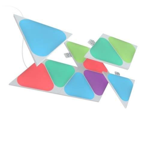 Nanoleaf Shapes Triangles Mini Exp. Pack 10 Pack (NL48-1001TW-10PK)
