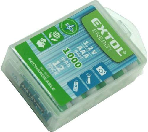 EXTOL ENERGY baterie nabíjecí