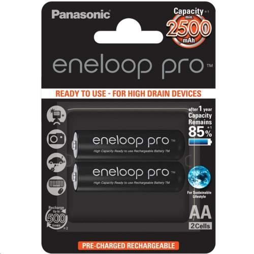Panasonic eneloop HR6 AA 3HCDE/2BE PRO (HR-3UWXB-2BP)