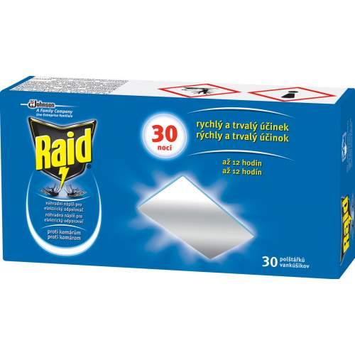 RAID elektrický suchý polštářek 30 ks