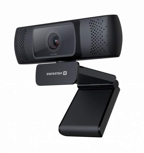 Swissten Webcam Fhd 1080P