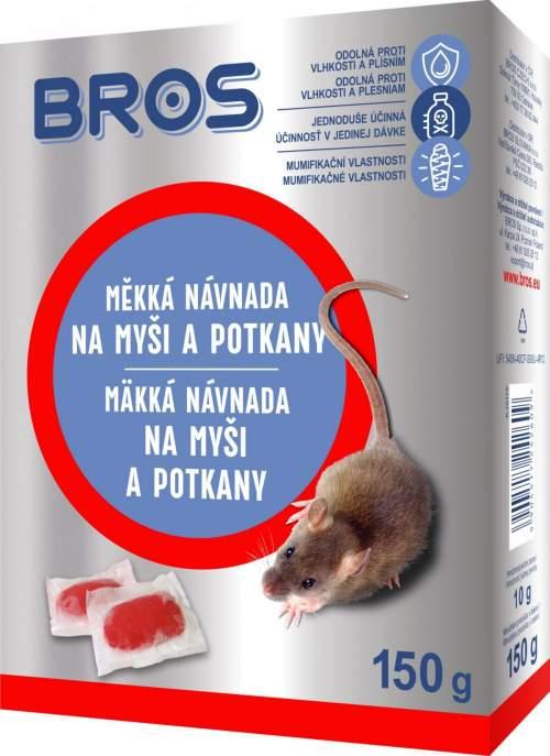 Bros - měkká návnada na myši a potkany
